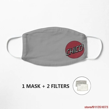 Chico Skate Mask Cotton Mascarilla Funny Face Mouth Mask Hip Hop party Mouth Muffle Respirator image