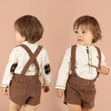 Short-Pant Spanish Infant Vintage Toddler Baby Kids Children New Boy Corduroy for Clothing
