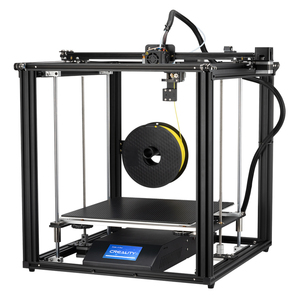Image 4 - CREALITY 3D Ender 5Plus Printer Dual Z Axis brand power Large Printing Size With BL Touch Levelling Resume Print Filament Sensor