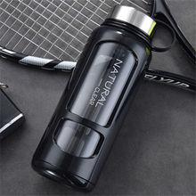 Space-Bottle Portable 650/1000ml Outdoor Leak-Proof Cup Glass Ke Bike Climbing Large-Capacity