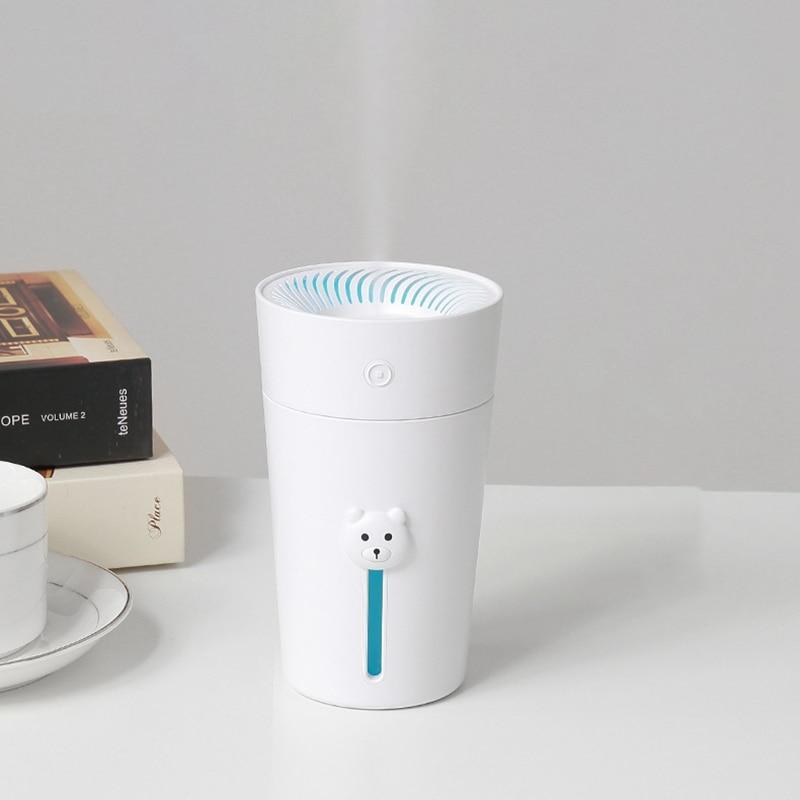 Charging Mini Humidifier USB Household Air Atomization Humidifier Cute Bear|Humidifiers| |  - title=