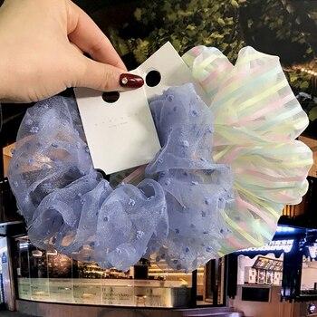 2020 nueva moda las mujeres las niñas sombreros accesorios para el pelo Pelo anillo de moda elástico bandas de goma para el cabello banda cabeza cuerda venta al por mayor