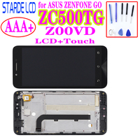 LCD for ASUS ZENFONE GO ZC500TG Z00VD LCD Display Touch Screen Digitizer ZC500TG LCD Panel Z00VD LCD Assembly With Frame|Mobile Phone LCD Screens|   -
