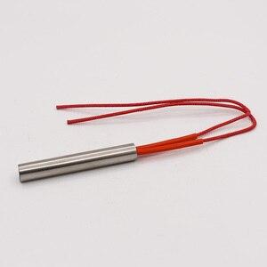 Image 5 - Darmowa wysyłka 12mm rurka ze stali nierdzewnej średnica grzałka patronowa 40 200mm długość 220V elektryczny Element grzejny grzejnik rurowy