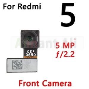 Image 3 - Original pour Xiaomi Redmi Note 5 5A Pro Plus petit avant et principal grand arrière caméra câble flexible