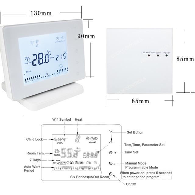 Termostato Calefacción Wifi / RF 4