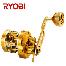 Japão marca ryobi varius metal carretel de pesca tambor roda 11bb 15kg luz jigging barco reell isca fundição carretel