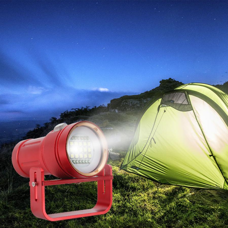 Bajo el agua linterna LED impermeable buceo Super brillante 80M Luz de relleno subacuático para escalar Camping