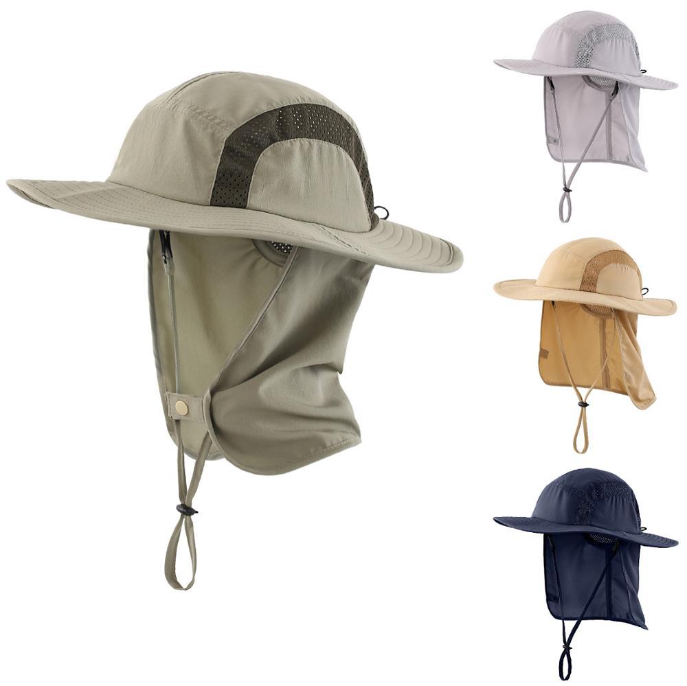 Connectyle Kids Safari Hat UPF 50+ Sun Visor Protective Cap Boys Bucket Hat With Flap