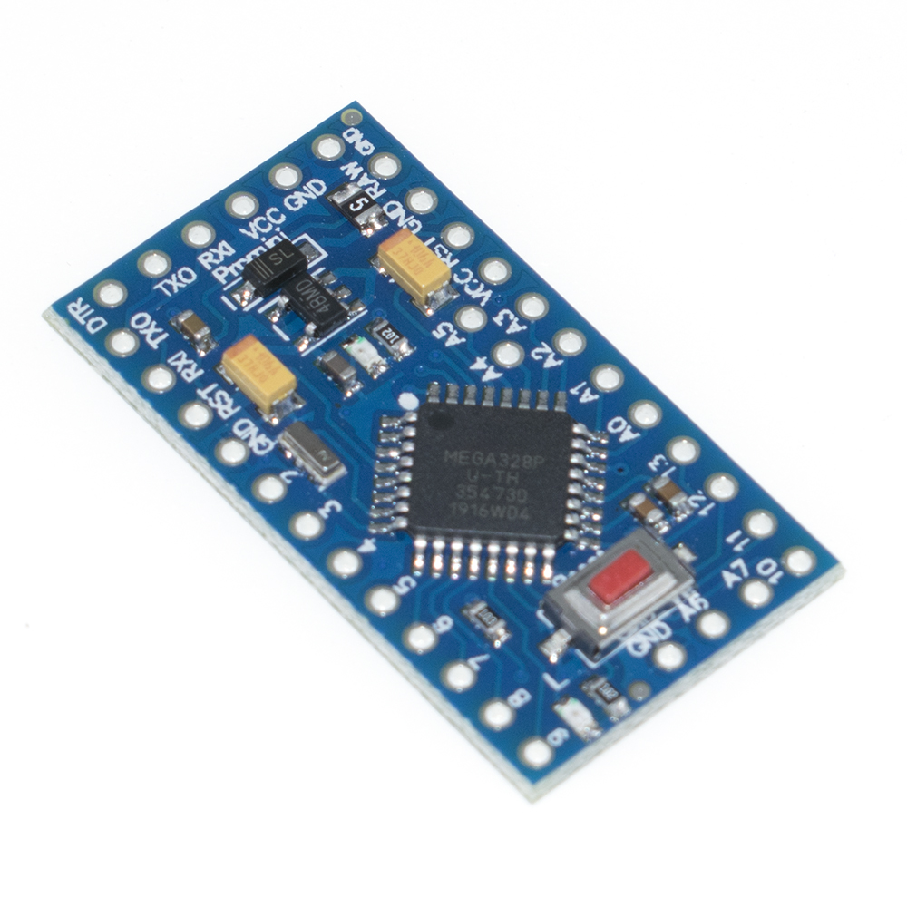 Image 5 - With the bootloader Pro Mini ATMEGA328P 328 Mini ATMEGA328 5V/16MHz 3.3V/8MHZ for arduino-in Integrated Circuits from Electronic Components & Supplies