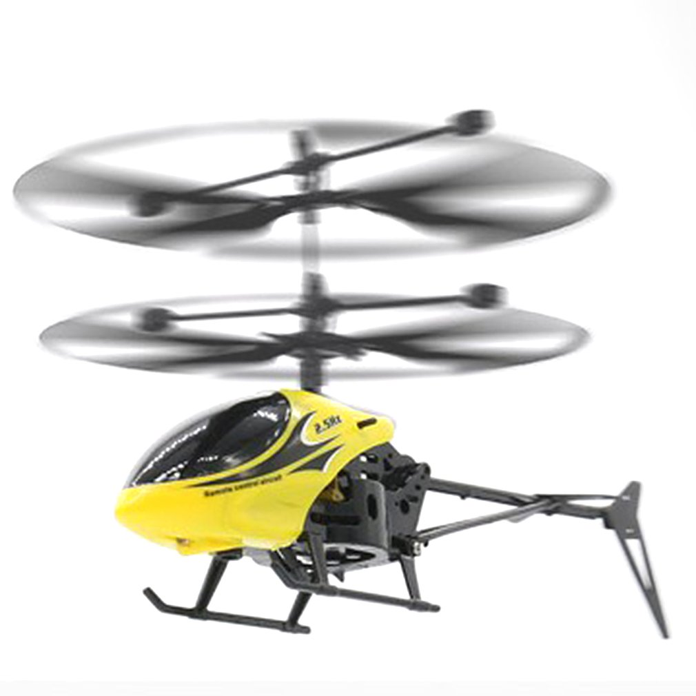 Children's Model Toy Two-way Remote Control Helicopter with Light Drop-resistant Kids' Helicopter Toy Gift 3 Colors Available