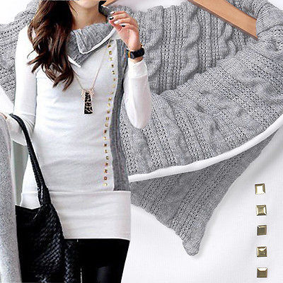 New Fashion Elegant Women Knit Collar Hoody Sweatshirt Ladies Bodycon Hoodies Pullover Tunic Dress S XL Innrech Market.com