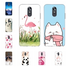 For LG Q Stylo 4 Stylus Case Soft TPU Silicone Cover Bear Patterned Plus Funda