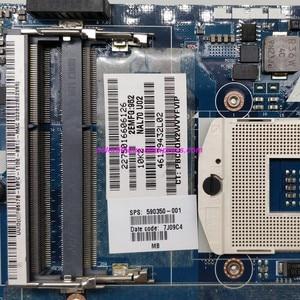 Image 3 - אמיתי 590350 001 NAL70 LA 4106P UMA האם מחשב נייד עבור HP Pavilion DV4 DV4 2100 סדרת נייד