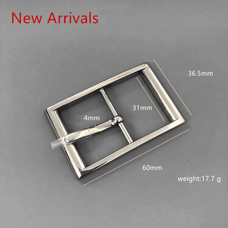 Letter Style Casual Pin Titanium Buckle To Fit 30 Mm / 33 Mm / 38 Mm With Belt