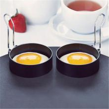 Metal Fried Egg Shaper Fried Egg Pancake Shaper Omelette Mold Mould Frying Rings Egg Kitchen Accessories Cooking Tools 118/5000 round shaper eggs mould for cooking breakfast frying pan oven kitchen new silicone fried egg pancake ring omelette fried egg