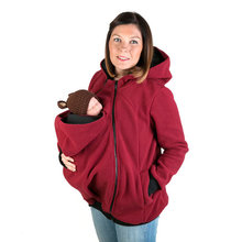 Brand New Autumn Winter Maternity Hoodies for Pregnant Women Clothes Baby Carrying Jacket Hooded Pregnancy Top Sweater Clothing(China)