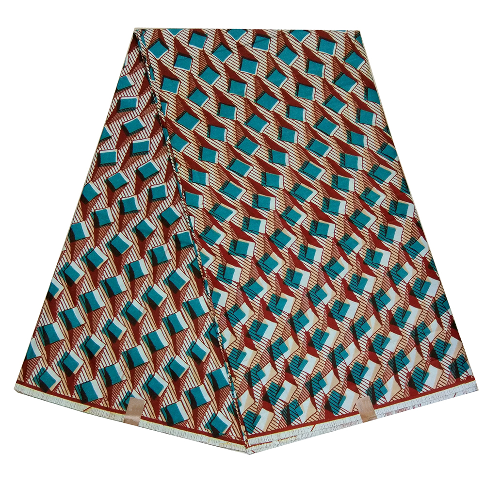 100% Cotton African Fabric Guaranteed Real Dutch Wax Veritable Wax High Quality African Print Fabric