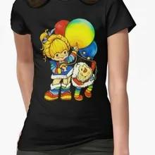 Rainbow Brite années 80 Girl 1980 S Rétro Cartoon Style Classique T Shirt