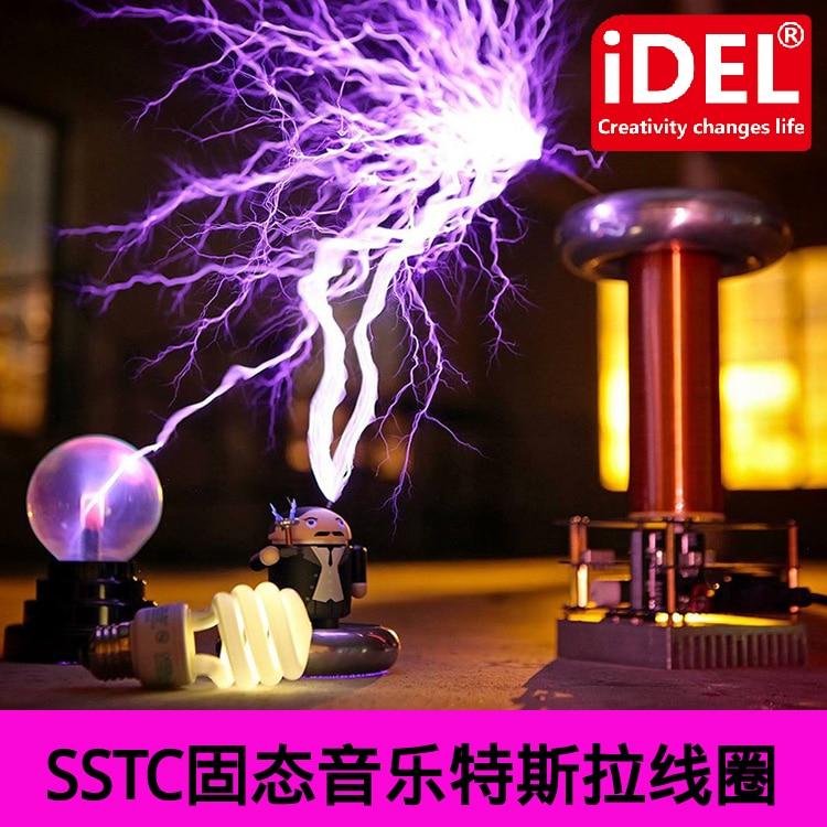 Tesla Coil Artificial Lightning Maker Music Tesla Coil SSTC Tesla Lightning Storm Accessories