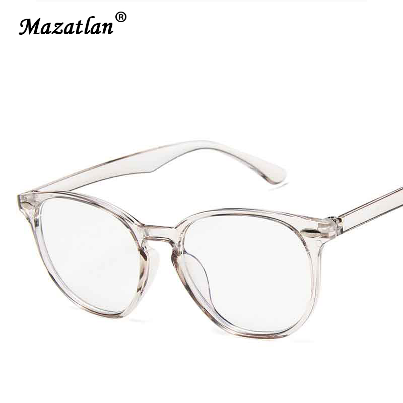 Brand Anti Blue Light Round Optics Glasses Frame Design Men Women Solid Color Spectacles Frame Prescription Eyeglasses Frames