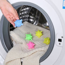 1pcs/lot Laundry Ball for Household Cleaning Washing Machine Clothes Softener Starfish Shape PVC Solid Cleaning Balls