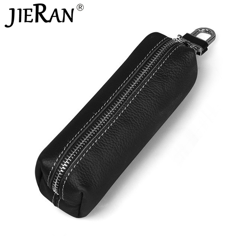 Key Bag Fashion Genuine Cow Leather Men Women Key Holder Top Quality Small Business Keys Case Women Housekeepers Purse Walllet
