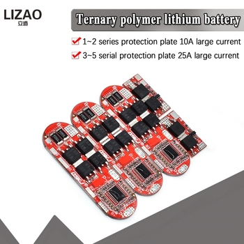 5s 25A BMS 18650 Li-Ion Lipo Lithium Battery Protection Circuit Board Module Pcb Pcm Lipo Charger 1s 2s 10a 3s 4s image