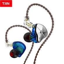 TRN STM 1BA+1DD Hybrid Driver In Ear Earphone HIFI Monitor Running Earphone Earplug Headset Replaceable cable TRN BA5 VX V90 ST1