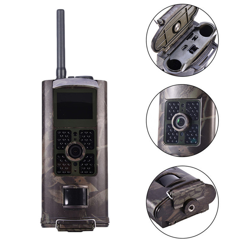 <font><b>HC</b></font>-<font><b>700G</b></font> 16MP 3G GMS Hunting Camera Outdoor Trail Camera Wildlife Scouting Photo Traps PIR Infrared Night Vision Wild Camera image
