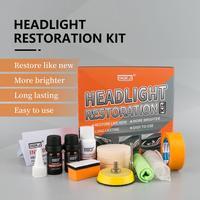 Hgkj agente de polimento do farol anti-risco de iluminação do farol do carro lâmpada de reparo de oxidação agente de renovação com caixa tslm1