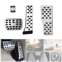 Alloy Pedal Covers Fit for Mercedes Benz a E C S GLK CLK SL W203 W204 W212|Pedals| |  -