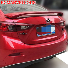 protector Automovil Car Styling Mouldings Decorative Upgraded Modified Wing Auto Exterior Accessory Spoilers FOR Mazda Axela