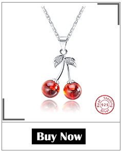 Hdf5ae3941dc04fc1a0030a2b36c9377bq ORSA JEWELS 925 Sterling Silver Red Natural Stone Cherry Pendant Necklaces for Women Genuine Silver Jewelry Necklace Gift SN03