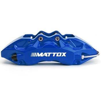 Mattox Big Brake Kits 378*32mm Drilled Slotted Brake Rotor Big 6 Pistons Capilers FOR BMW 135i E82 M1 2012 Rim 19inch