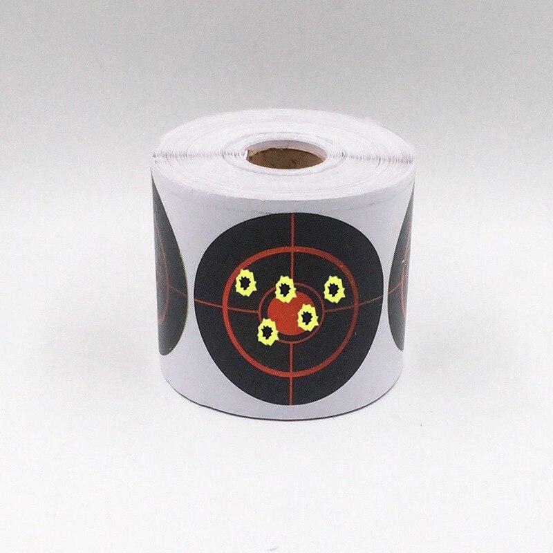 250Pcs /Roll Shooting Practice Sticker Outdoor Portable Splash Target Glue Reusable Shooting Practice Target Sticker Set