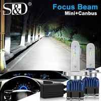2Pcs H4 H7 Led Headlight Bulbs H4 LED Canbus H11 H8 9005 HB3 9006 HB4 Car Light 50W 12000LM 6000K 12V 24V Automobile Headlamp