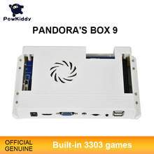 Pandora novo jogo 3d 3303 em 1 caixa casa versão armário de rua hd vídeo jamma hd vga console gamepad placa-mãe fba mame ps