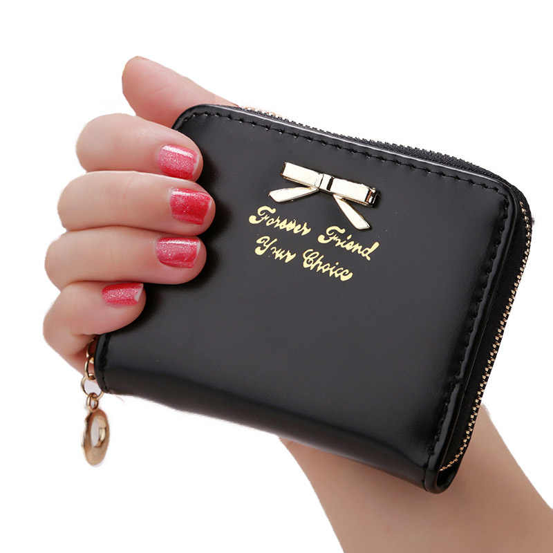 2020 Fashion Women's Purse Clutch Women Wallets Short Small Bag PU Leather Female Purses for Coins Carteras Mujer Cheap Sale 25