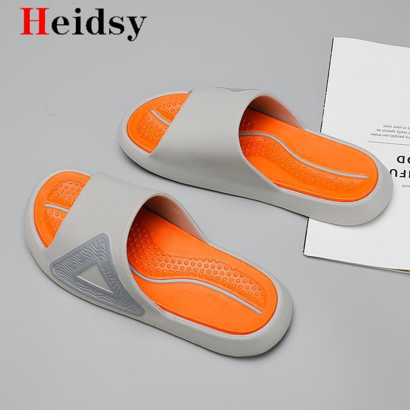 Men's New Slippers EVA Men Shoes Women Couple Flip Flops Soft  Camouflage Beach Casual Summer Sandals Male Chaussures Femme