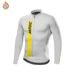 Mavic-Camisa de manga larga para hombre, camisa de lana Polar cálida de manga larga para bicicleta de montaña, Jersey de ciclismo con autocapado, para invierno, 2020