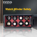 New automatic watch winder safe box Motor mabuchi microfiber leather led touch screen Watch winders safety