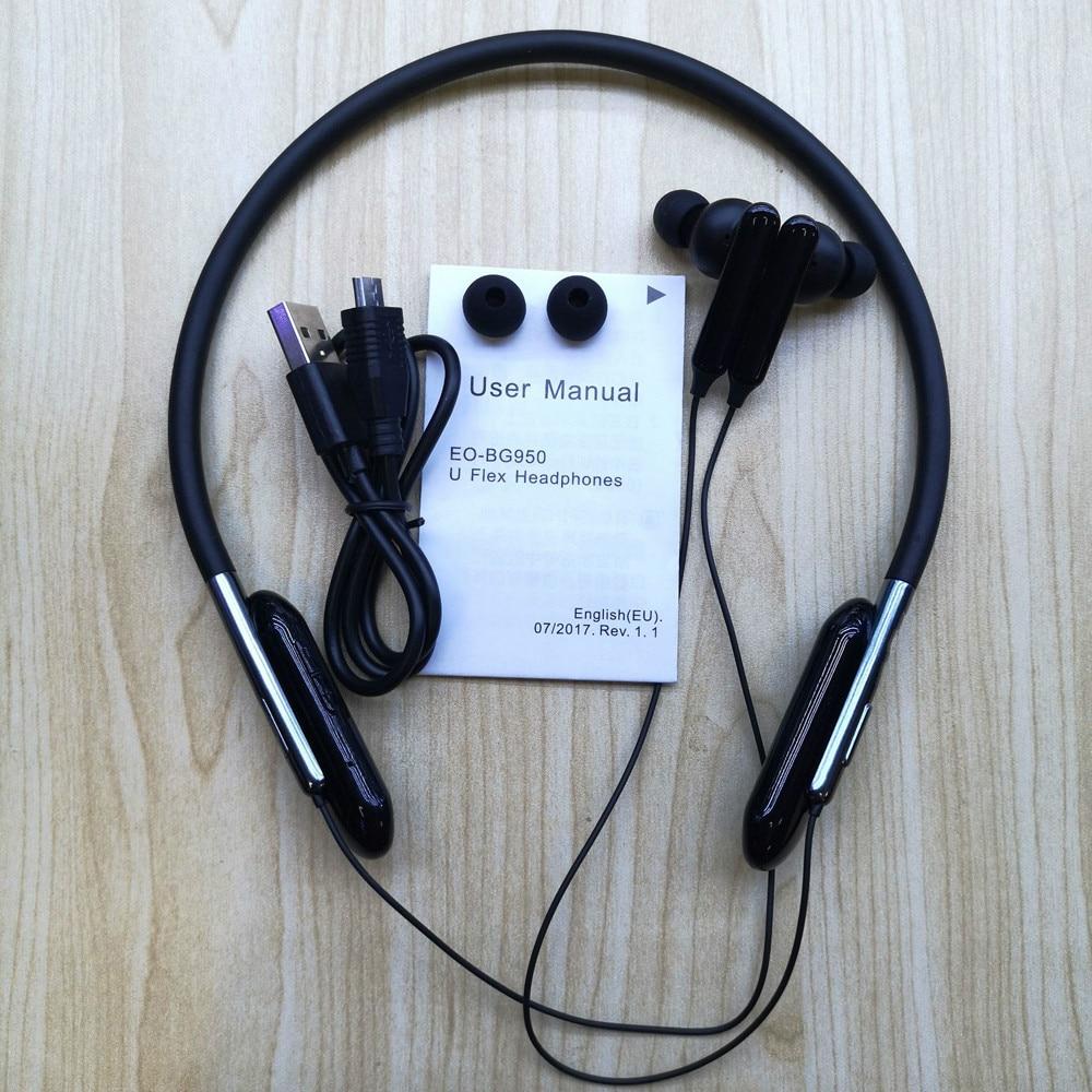 Bg950 Mini Wireless Headphone Bluetooth With Microphone Sport Headset Replacement For Samsung U Flex Headphone Wireless Earphone Aliexpress
