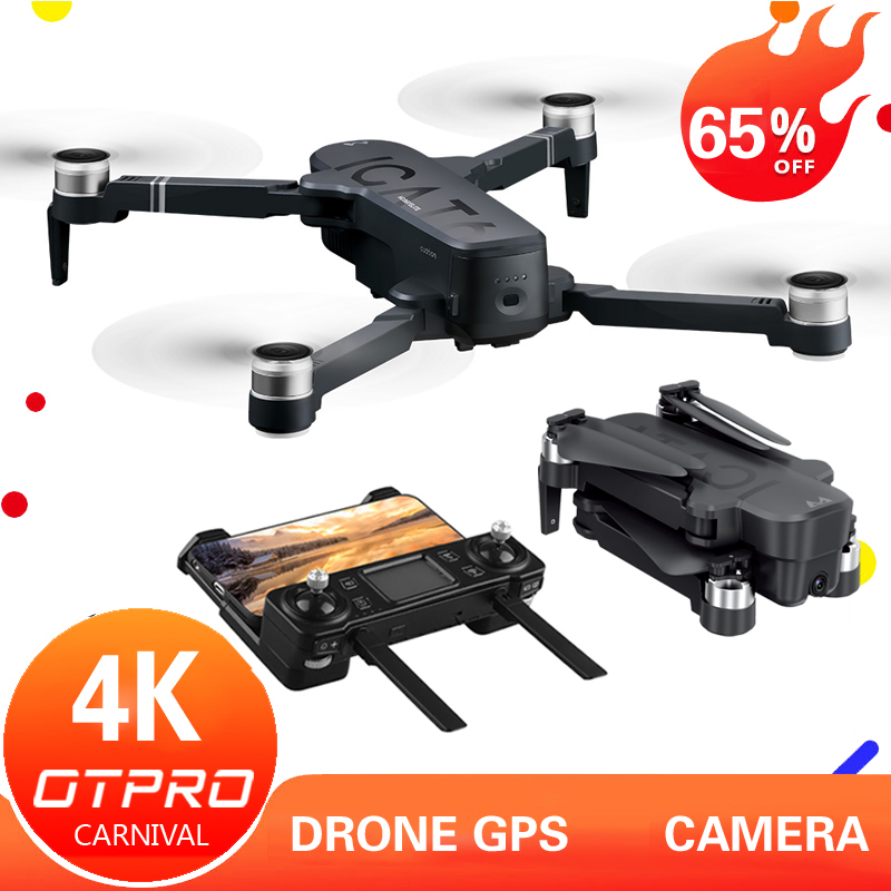 OTPRO Mini dron 4K 5G Camera Drones Professional GPS RC Helicopter Brushless Motor Foldable RC Quadcopter 1080p toys gift boy