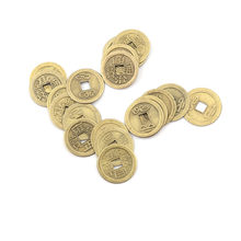 20PCS/Lot Zinc Alloy Lucky Fortune Feng Shui Antique Chinese Ancient Money Coin For Home Collection