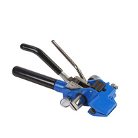 Broken Wire Tools Heavy Duty Ratchet Cable Ties Clamp Cutting High Strength Anti slip Banding Pipe Handheld Strapping Tensioner