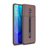 style protective For OPPO Reno 2 Case Business Style Silicone Rubber Shell TPU Back Phone Cover For OPPO Reno2 Protective Case For OPPO Reno 2 (4)