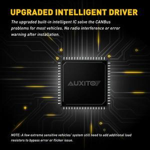 Image 5 - AUXITO 2 uds H8 luces antiniebla para coches H9 H11 3000K 6500K llevó la lámpara de niebla para Audi A3 A4 B6 B8 A6 C6 80 B5 B7 A5 Q5 Q7 TT 8P 100 8L 12V 12V