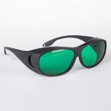 O.D 3+ laser safety goggles for 600-1100nm black frame and black case