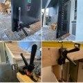 Экономичный кронштейн для подъема домкрата на дверь шкафа Многофункциональный штукатурный лист для ремонта скользящий ручной инструмент ...